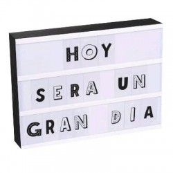 LIGHT BOX RECTANGULAR 3 LINEAS