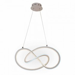 LAMPARA LED CURVAS AROS 118W