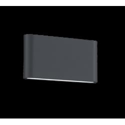 APLIQUE EXTERIOR LED THAMES II 2 X 4.5 W