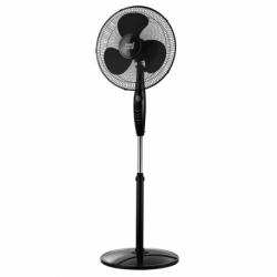 ventilador inverna negro con mando a distancia