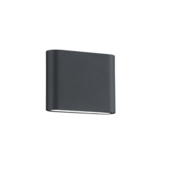 APLIQUE EXTERIOR LED THAMES II 2 X 2.5 W