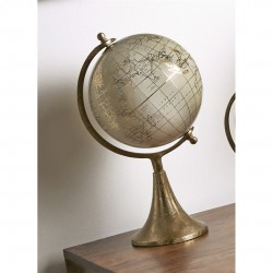 BOLA DEL MUNDO PIE RELIEVE 20 CM